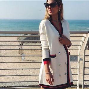 Zara Jackets & Coats - Zara Double Breasted Cardigan